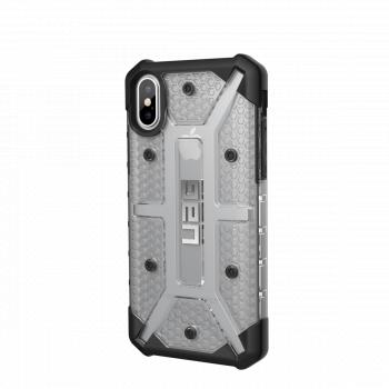Чехол Urban Armor Gear Plasma Ice для iPhone X/XS серый прозрачный
