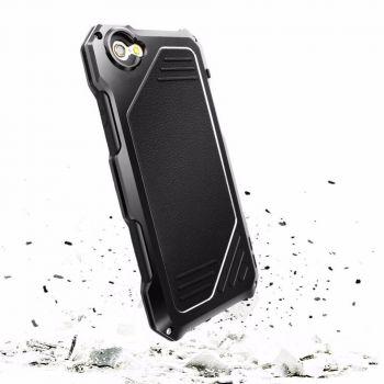 Противоударный чехол с линзами Uniya Lens Case для iPhone 7/8/SE черный
