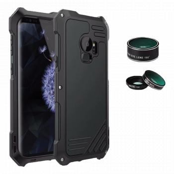 Противоударный чехол с линзами Uniya Lens Case для Samsung Galaxy S7 Edge черный