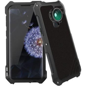 Противоударный чехол с линзами Uniya Lens Case для Samsung Galaxy S9 черный