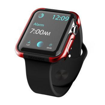 Защитный корпус X-Doria Defense Edge Red для Apple Watch 42 мм (копия)