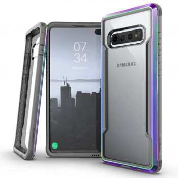 Чехол ударопрочный X-Doria Defense Shield Iridescent для Samsung Galaxy S10