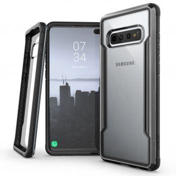 Чехол ударопрочный X-Doria Defense Shield Black для Samsung Galaxy S10