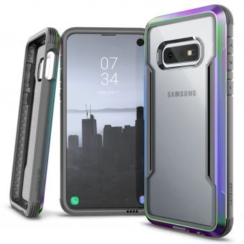Чехол ударопрочный X-Doria Defense Shield Iridescent для Samsung Galaxy S10e