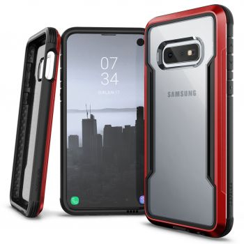 Чехол ударопрочный X-Doria Defense Shield Red для Samsung Galaxy S10e
