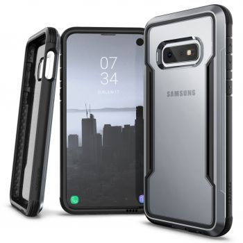 Чехол ударопрочный X-Doria Defense Shield Black для Samsung Galaxy S10e