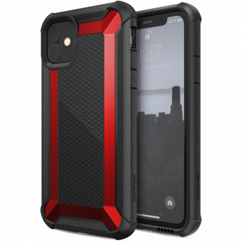 Чехол ударопрочный X-Doria (Raptic) Tactical Red для iPhone 11
