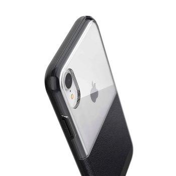 Чехол ударопрочный X-Doria Case Dash Black Leather для iPhone XR