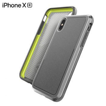 Чехол ударопрочный X-Doria Defense Lux Silver для iPhone XR