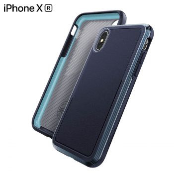 Чехол ударопрочный X-Doria Defense Lux Blue для iPhone XR
