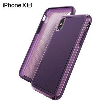 Чехол ударопрочный X-Doria Defense Lux Purple для iPhone XR