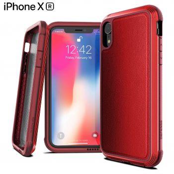 Чехол ударопрочный X-Doria Defense Lux Red для iPhone XR