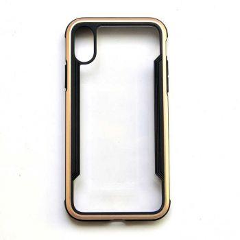 Чехол ударопрочный X-Doria Defense Shield Gold для iPhone XR