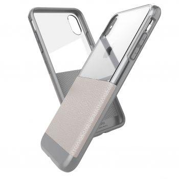 Чехол ударопрочный X-Doria Case Dash Cream для iPhone X/XS