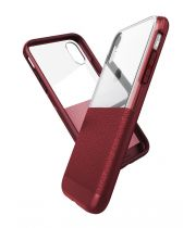 Чехол ударопрочный X-Doria Case Dash Burgundy для iPhone X/XS