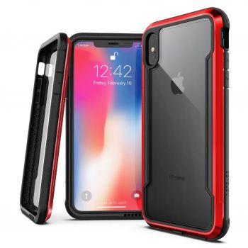 Чехол ударопрочный X-Doria Defense Shield Red для iPhone XS Max