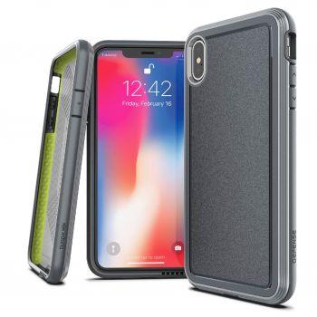 Чехол ударопрочный X-Doria Defense Ultra Gray для iPhone XS Max