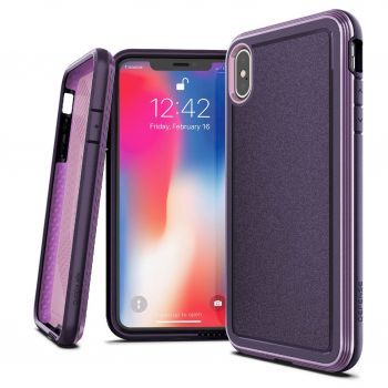 Чехол ударопрочный X-Doria Defense Ultra Purple для iPhone XS Max