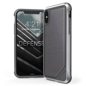 Чехол ударопрочный X-Doria Defense Lux Ballistic Nylon для iPhone X/XS