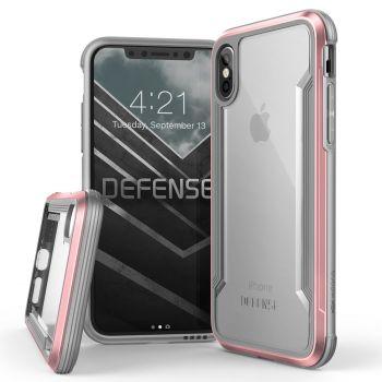 Чехол ударопрочный X-Doria Defense Shield Rose Gold для iPhone X/XS