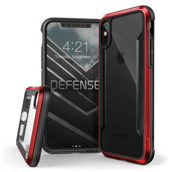 Чехол ударопрочный X-Doria Defense Shield Red для iPhone X/XS