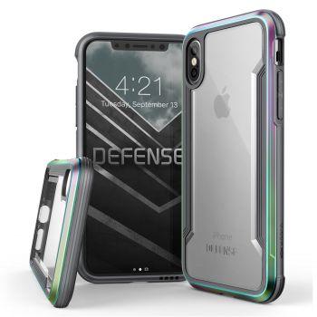 Чехол ударопрочный X-Doria Defense Shield Iridescent для iPhone X/XS