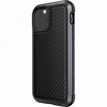 Чехол ударопрочный X-Doria (Raptic) Lux Black Carbon Fiber для iPhone 11 Pro